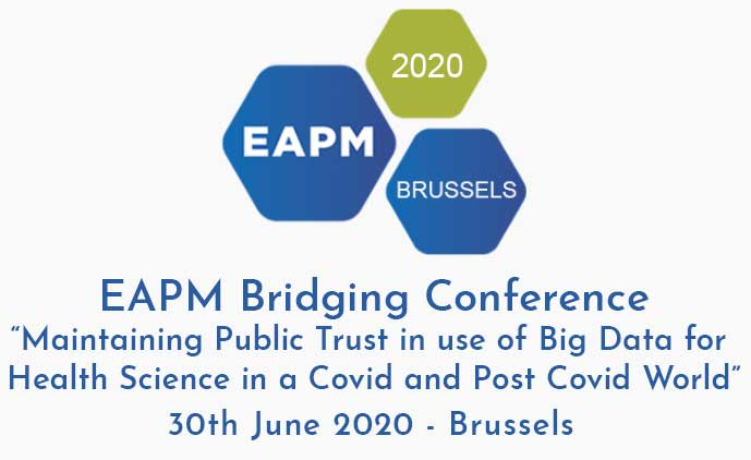 European Congress on Personalised Medicine, Brussels 2019 Logo
